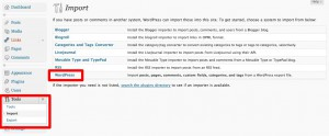 wordpress-org-import