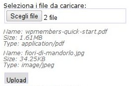 HTML5 - Upload di file con XMLHttpRequest 2 - blog artera net