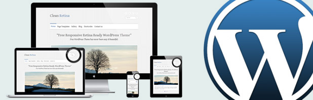 Clean Retina: un tema WordPress responsive