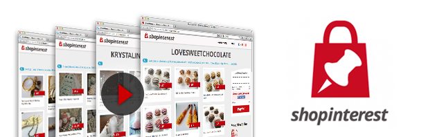 Un negozio online stile Pinterest con Shopinterest