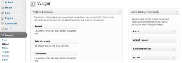 Widget WordPress