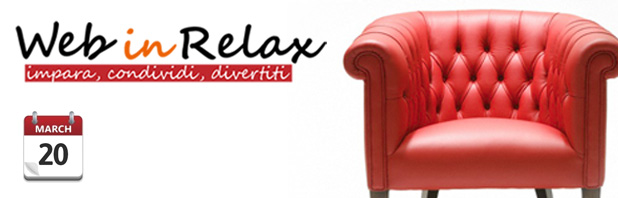 Impara, condividi e divertiti con Web in Relax!