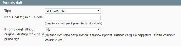 formato dati - xml