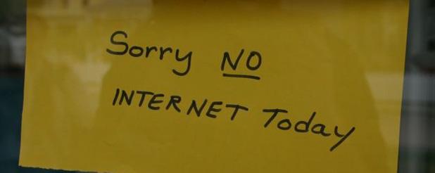 Legge bavaglio per internet