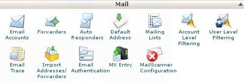 cPanel MailScanner