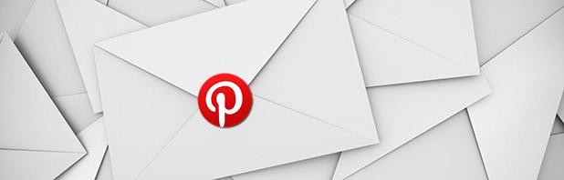 Inviare email con Pinterest