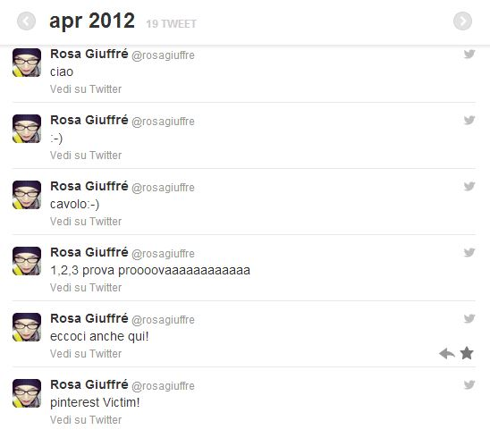 archivio dei tuoi tweet 5