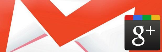 Integrazione dei contatti di Google+ in Gmail