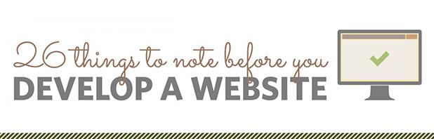26 consigli per sviluppare un sito web di successo