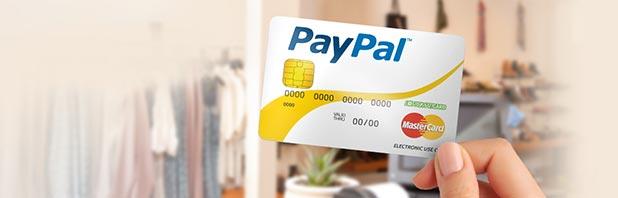 Conto corrente e carta di credito prepagata PayPal