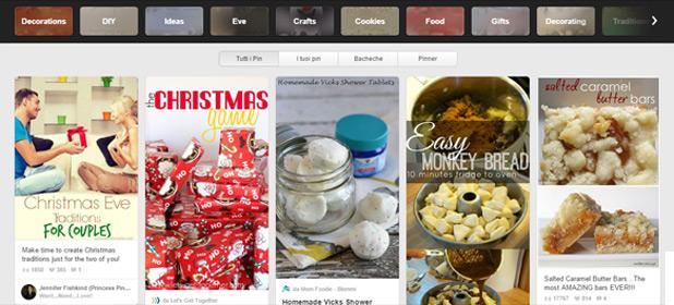 Il Natale è su Pinterest: strategie e consigli per la tua visibilità