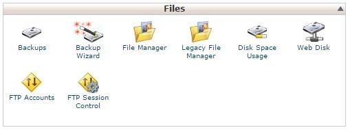 Guida cPanel Files