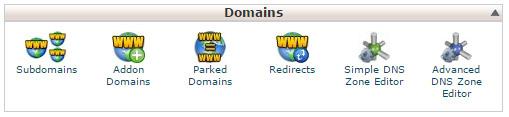 Gestione dominio su cPanel