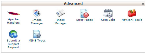 Guida cPanel Advanced