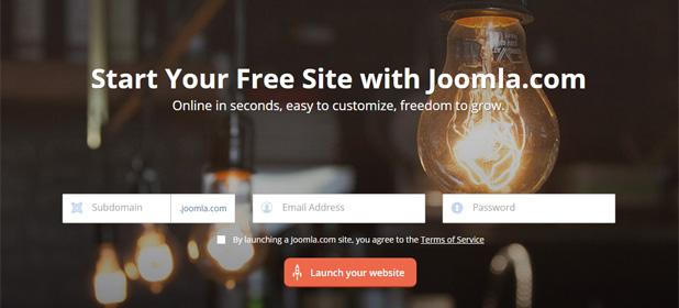 Joomla.com: arriva la piattaforma per i meno esperti