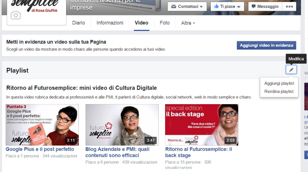 Facebook video 2