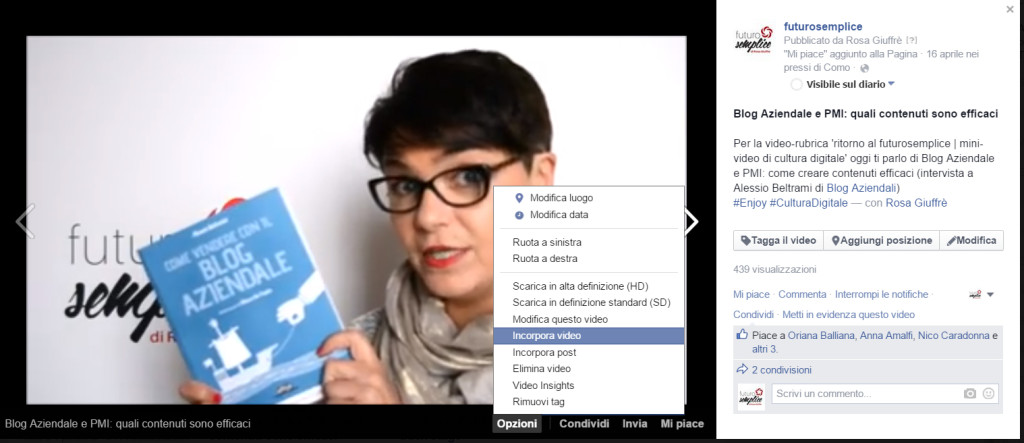Facebook video 3