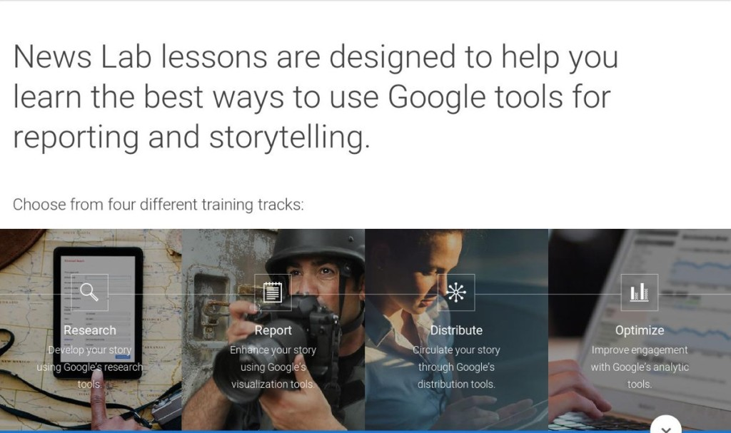 google news lab tools