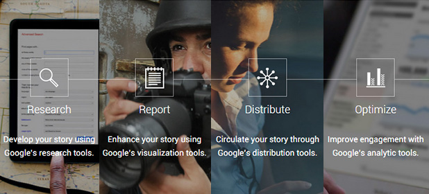 Come usare le guide formative di Google News Lab