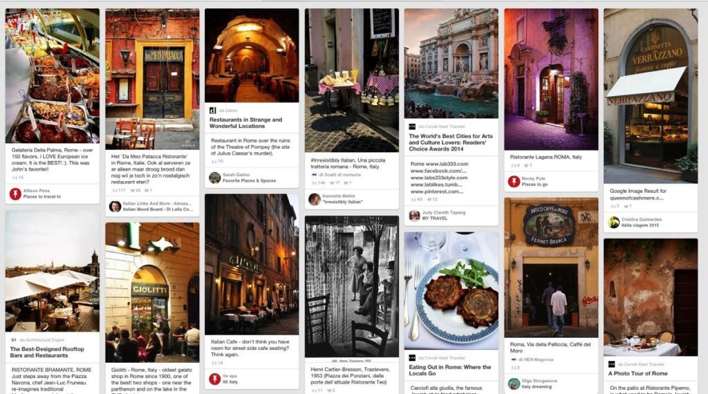 pinterest ristorante roma