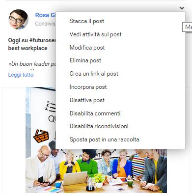 raccolte di Google Plus 5