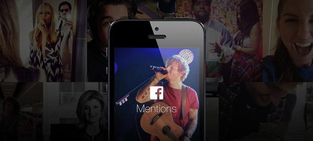 Facebook Mentions per i personaggi pubblici