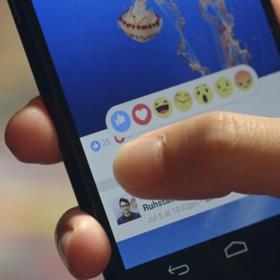 Facebook Reactions per esprimere tutte le emozioni