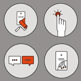 Biglietti da visita innovativi con tecnologia NFC