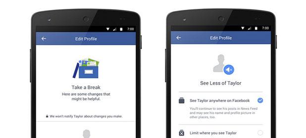 Take a Break, la funzione di Facebook per i cuori infranti