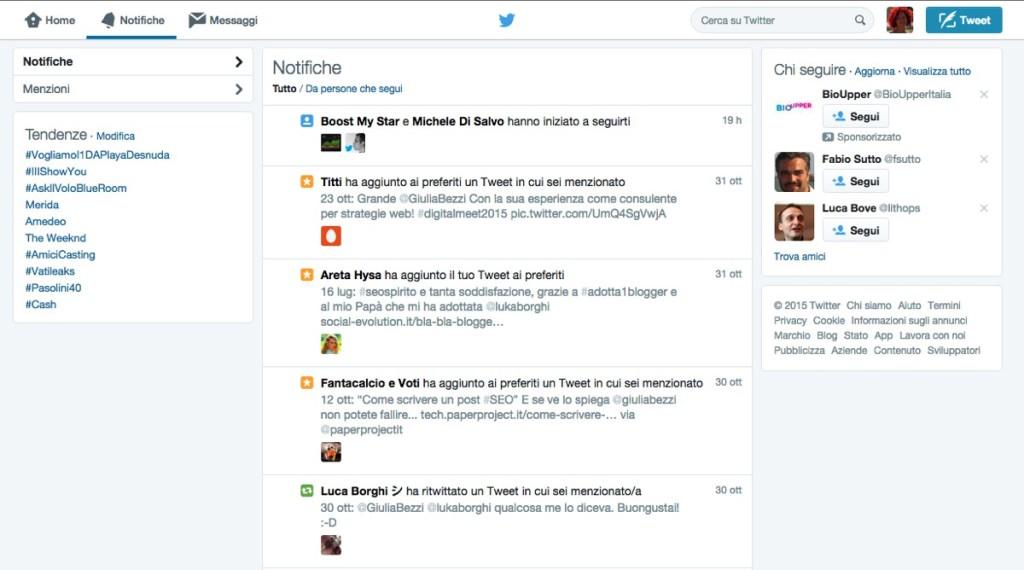 web marketing live tweeting