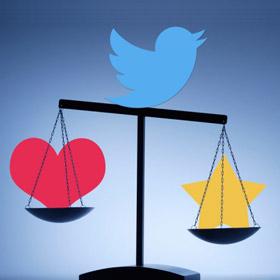 Cuore o stellina? Twitter sperimenta nuove emoji!