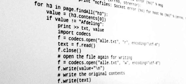Cos'è il codice sorgente?