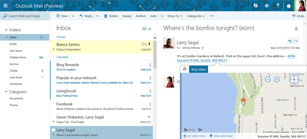Arriva il nuovo Outlook.com