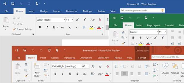 In arrivo l'ottimizzazione di Office 2016 per Windows 10