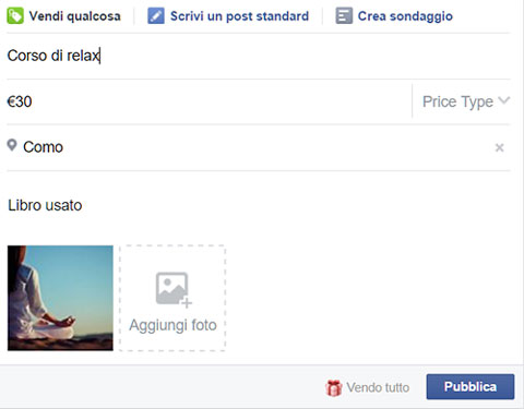 Gruppi Facebook per acquisti, vendite e scambi