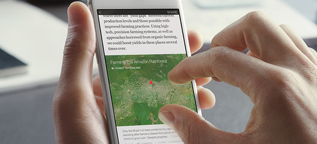 Mappe su Instant Articles