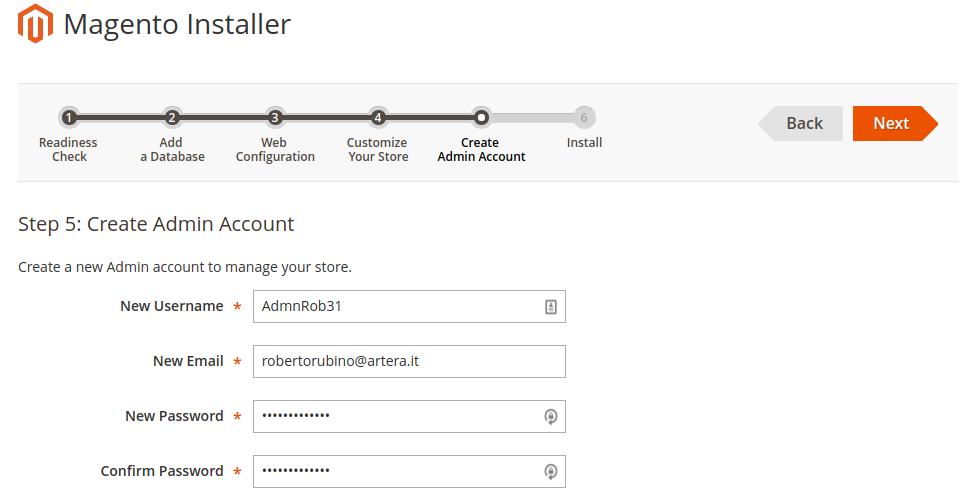 magento2-installer-admin-administrator