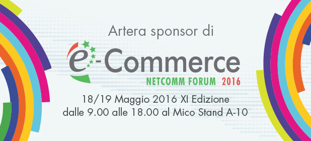 Artera presenta le sue novità all'Ecommerce Forum