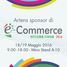 Artera presenta le sue novità all'Ecommerce Forum