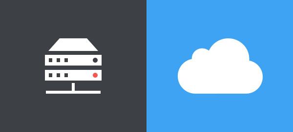 Hosting vs. Server Cloud