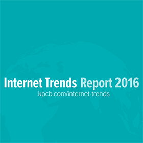 Internet Trends Report 2016