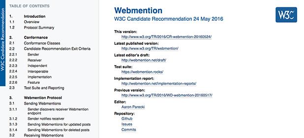 Webmention