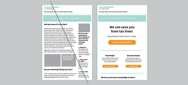 7 consigli per ottimizzare l'Email Design