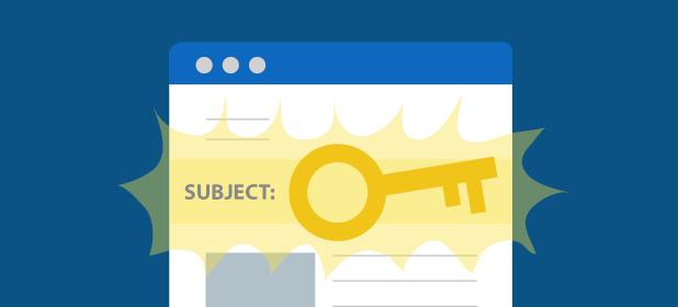 Scegliere l'oggetto della newsletter