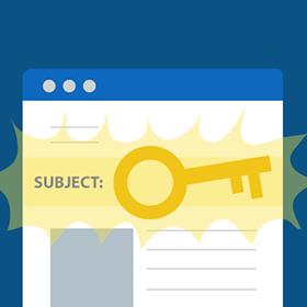 Come scegliere l'oggetto della newsletter?